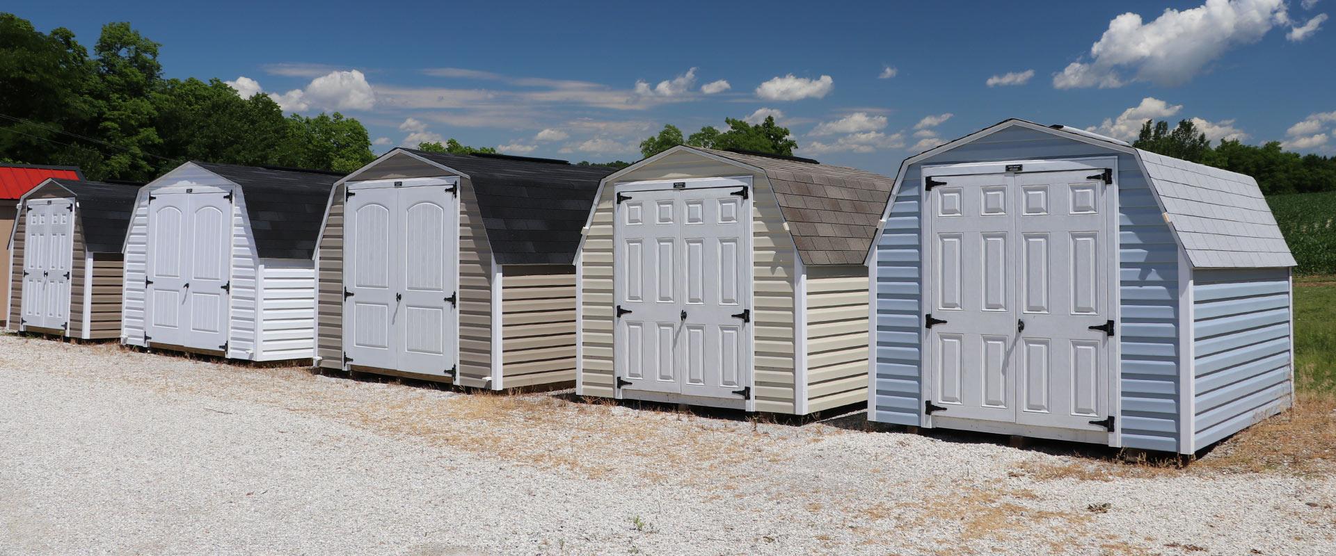 storage sheds backyard buildings martin u0027s mini barns iowa
