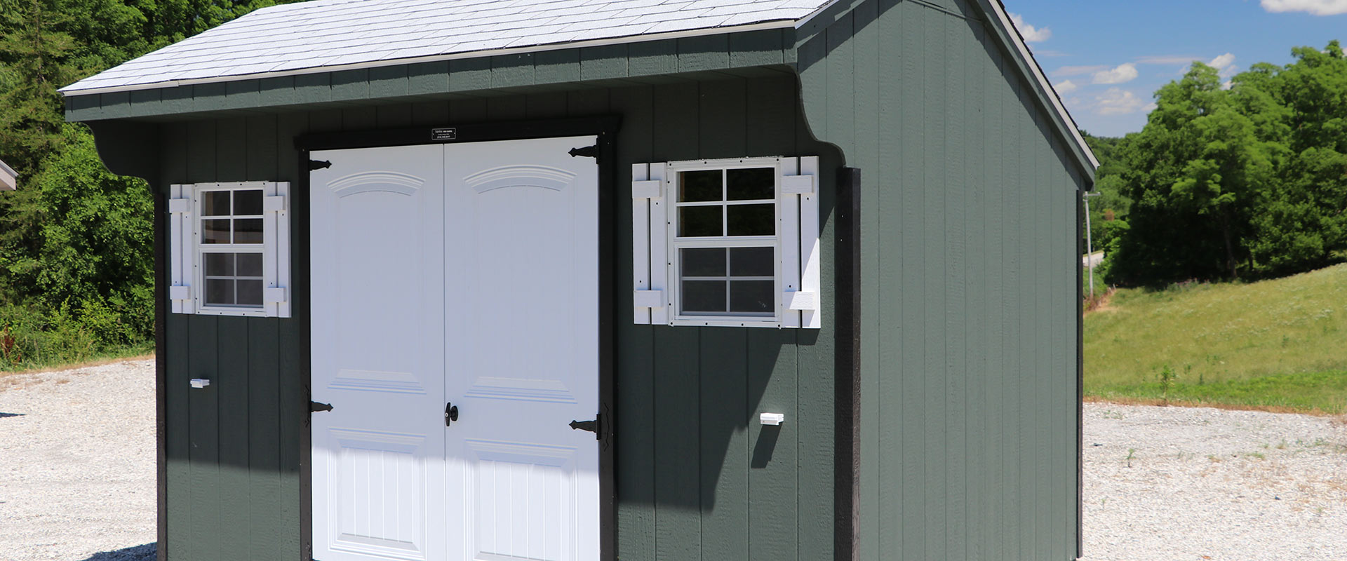 Storage Sheds   Backyard Buildings | Martinu0027s Mini Barns   Iowa