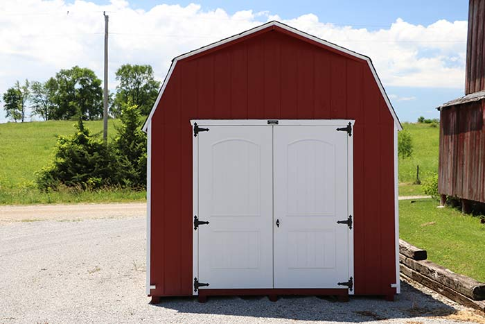 Painted High Barn